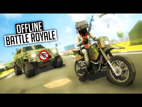 Top 10 🤩 BEST OFFLINE Battle Royale Games For Android 2019