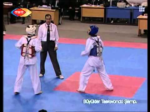 51kg Final M. Merhamet vs U. Ergen (2013 Turkish Senyor TKD Championships)