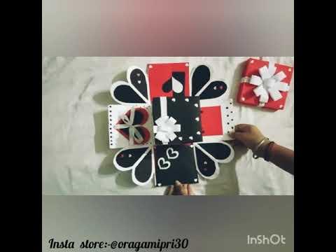Explosion box 🎁 | Raksha Bandhan surprise 🤗 | Oragami pri ❤ | gift idea 👼