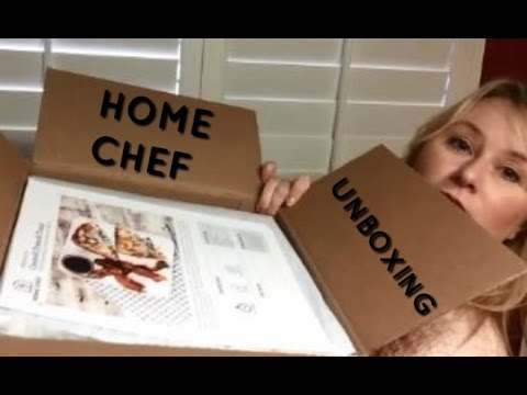 Home Chef Unboxing 2 Monthly Food Subscription Service