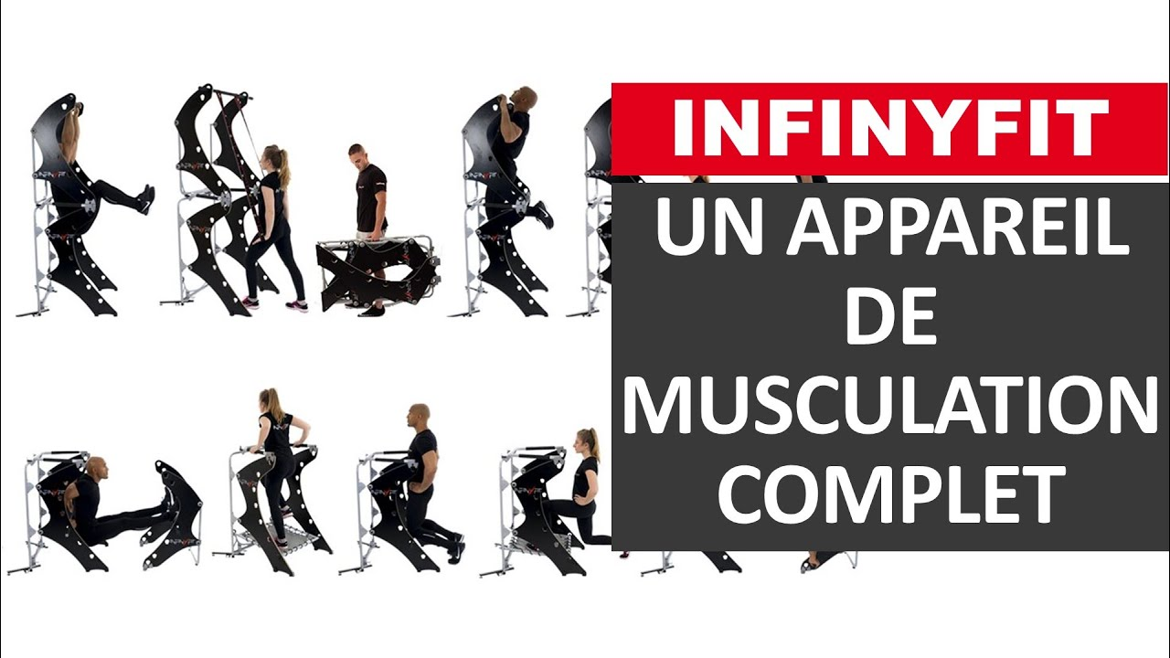 infinyfit appareil de musculation au poids du corps complet innovation sport youtube. Black Bedroom Furniture Sets. Home Design Ideas