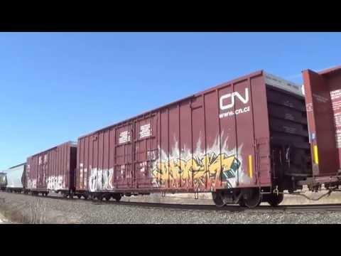 Railfanning Northern New York, April, 2015 (HiDef)