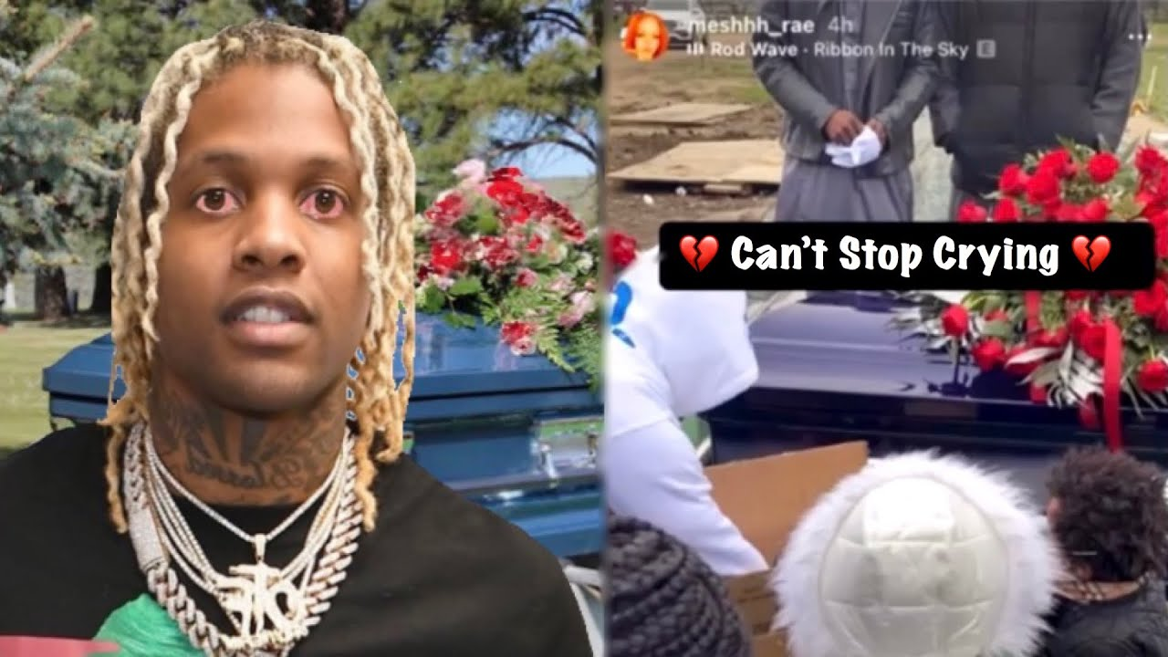Download Lil Durk at King Von Memorial (Hard Not To Cry)