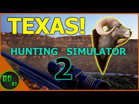 Hunting Simulator 2! Heading Out To TEXAS |