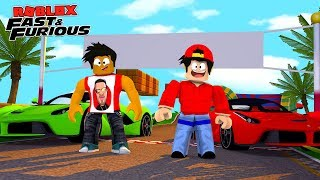 ROBLOX FAST AND THE FURIOUS - DONUT AND ROPOM PURCHASE BRAND NEW PAGANI ZONDA'S & STREET RACE THEM!!