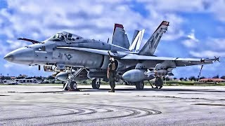 USMC F/A-18 Hornets (2019) • Red Devils On Guam