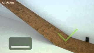 видео Технология укладки пробкового пола.