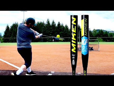 HITTING WITH THE MIKEN FREAK 23 KYLE PEARSON MAXLOAD USSSA - Slowpitch Softball Bat Reviews