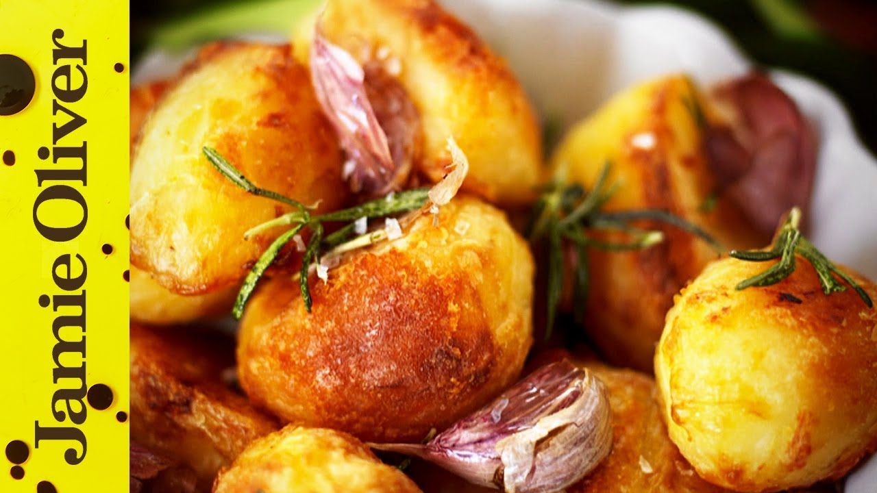 Jamies perfect roast potatoes youtube ccuart Images