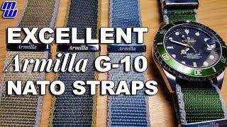 Armilla G-10 Superior nato bands - High Quality, Shiny Nato Goodness