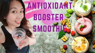 Smoothie Diary: Berries Passion Smothie with Chia Seed