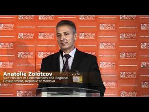 Anatolie Zolotcov, Republic of Moldova, FORUM INVEST INFRASTRUCTURE 2010