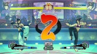 Fight For 3000 - Juri Mirror - Zetto San (Blue) Vs Genkai 3016 (Jeans)