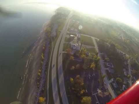 Flight with Fall Colors in Manitowoc County