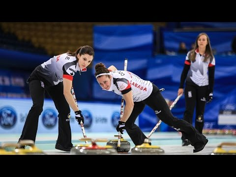 HIGHLIGHTS: Russia v Canada - Page 1v2 - CPT World Women's Curling Championship 2017
