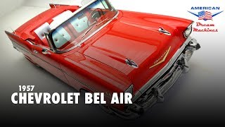 1957 Chevy Bel Air Convertible - For Sale - Red