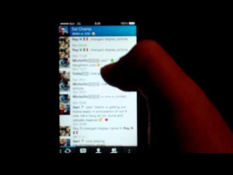 Blackberry Messenger (BBM) On IOS (iPhone)