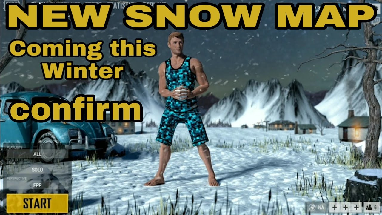 pubg mobile new snow map coming this winter 2018 pubg. Black Bedroom Furniture Sets. Home Design Ideas