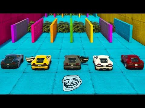 MINIJUEGO! CAMINOS TROLLS! - GTA 5 ONLINE - GTA V ONLINE