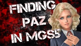 Finding Paz in Metal Gear Solid 5 TPP [Secret Mission]