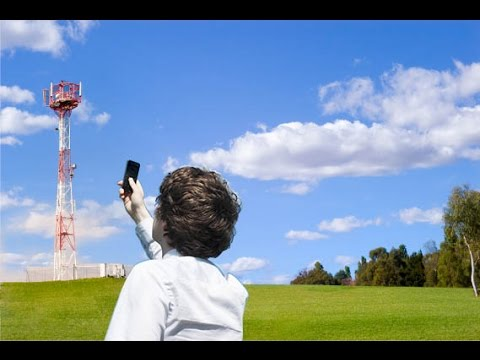Finally!! Mobile signal! Installing a mobile phone signal booster in N. Ireland ( UK )..