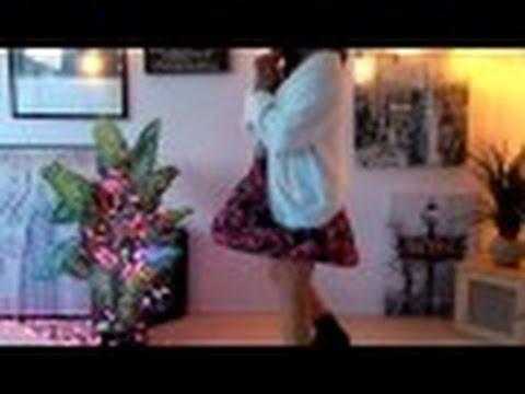 Bethany Mota Eyelash Knit Cardigan   Forever XXI Floral Dress - YouTube 2c6d4833c