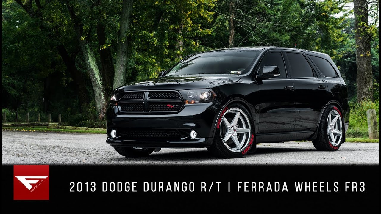 2013 Dodge Durango R/T | Ferrada Wheels FR3 - YouTube