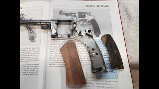 Anvil 076: French Revolver Grip Fabrication