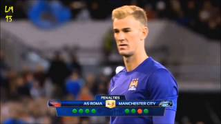Joe Hart penalty vs Roma▷Пушка от Джо Харта в ворота Ромы
