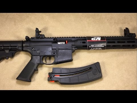 Smith & Wesson M&P 15-22 Sport (new version) 22lr semi-auto rifle 10208- Unboxing