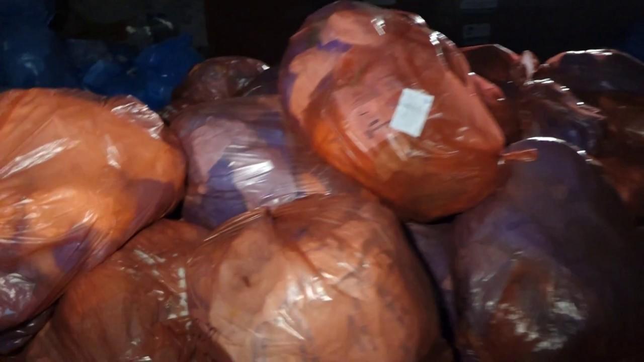 Wysypisko śmieci i odpadów medycznych przy Szpitalu Kieleckim na ulicy Kościuszki 01.03.2018