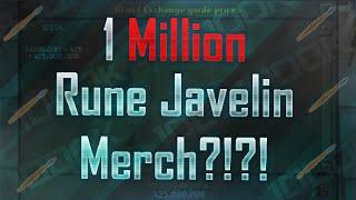Investing In 1 Million Rune Javelins