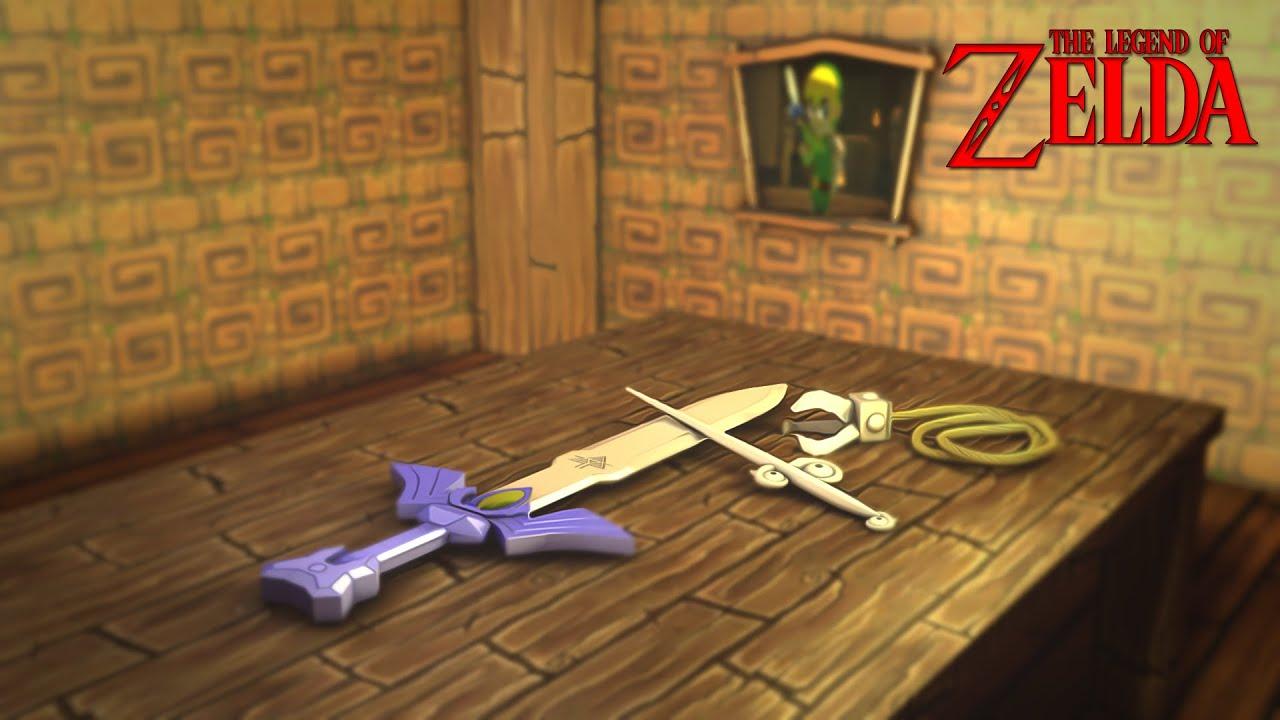 Zelda Windwaker Wallpaper Breakdown Derquinnfx Youtube