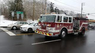 Western Berks Engine 18-2 Responding to an Automatic Fire Alarm - 01/13/19