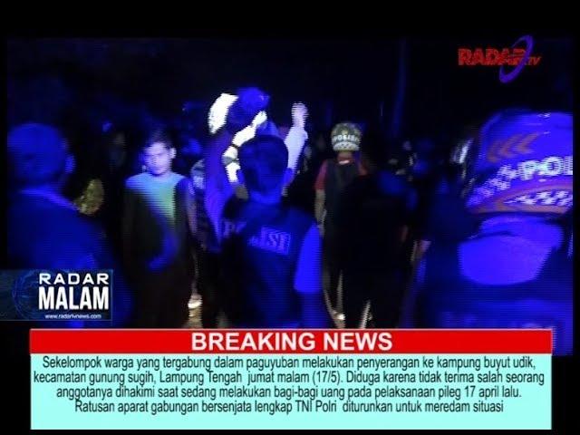 MONEY POLITIC PICU BENTROK WARGA LAMPUNG TENGAH