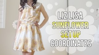 Liz Lisa sunflower set up coordinates [Emiiichan]