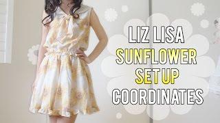 Liz Lisa Sunflower Set Up Coordinates