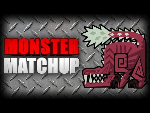 MONSTER MATCHUP - Odogaron (Monster Hunter: World) thumbnail
