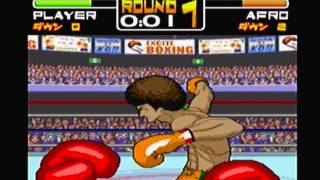 Exciteboxing - vs. Afro Fernandez (Champion Mode)