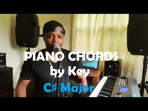 Chords by Key - Piano Chords in the Key of C# Major (C Sharp)