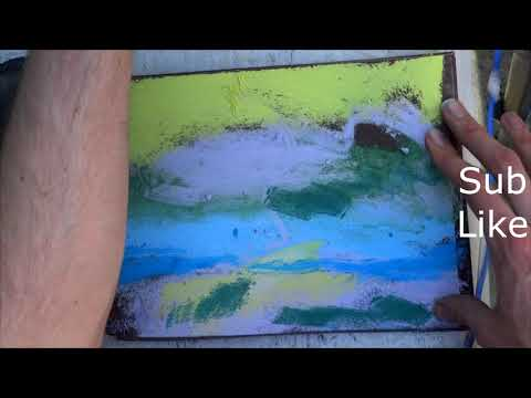 Tutorial video – 4  Abstract Landscape