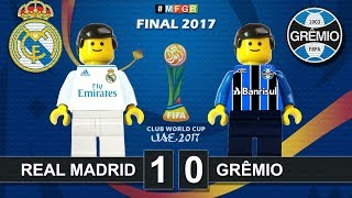FIFA Club World Cup 2017 • Real Madrid vs Gremio 1-0 • Abu Dhabi • Lego Football Highlights Film