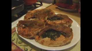 Cooking With Kenshin1913: Baked Stuffed Chicken Florentine