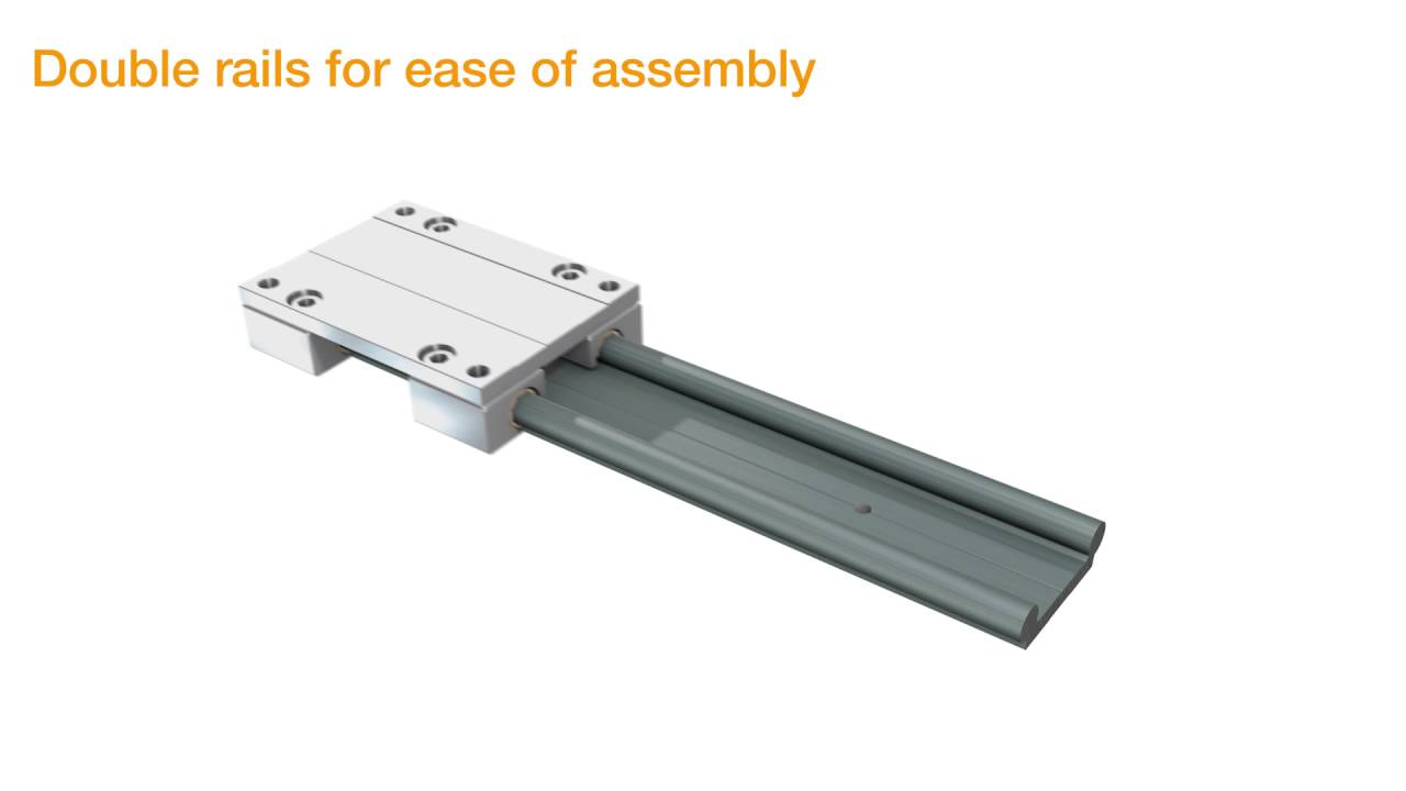 Igus® drylin® w linear guide system design tips.