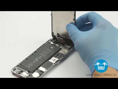 Замена аккумулятора IPhone 6. Инструкция по замене батареи IPhone 6.