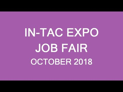 IN-TAC Career Expo, October 2018. Connect With Canadian Employers! LP Group