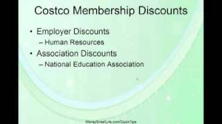 Costco Membership Discounts