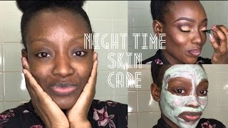 HOW I REMOVE MY MAKEUP & NIGHT TIME SKIN CARE ROUTINE | OILY SKIN FRIENDLY