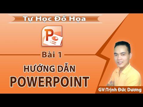 Hướng Dẫn Sử Dụng PowerPoint Cho Người Mới Bắt đầu | Tự Học Đồ Hoạ