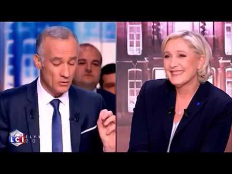 Marine Le Pen sur TF1 le 25 avril 2017